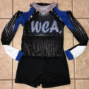 World Class Athletics Cheer Bodysuit Uniform YM